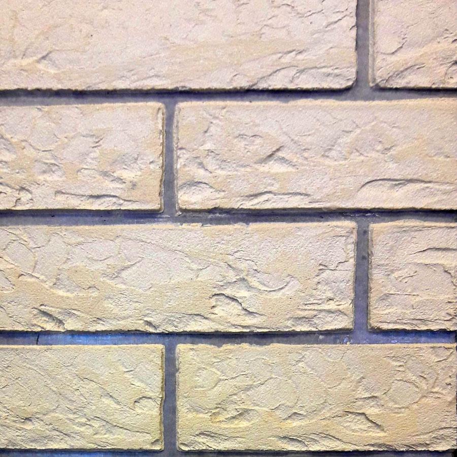 Коллекция под камень - Каменный дом - Кирпич 3 Слоновая кость